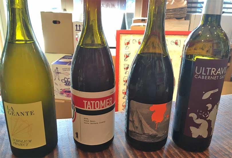 ワインの試飲(2)