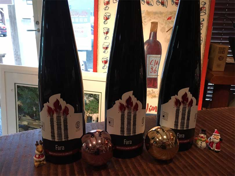 クリスマスに飲む赤ワイン!