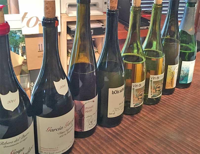 3月の新着ワインの試飲