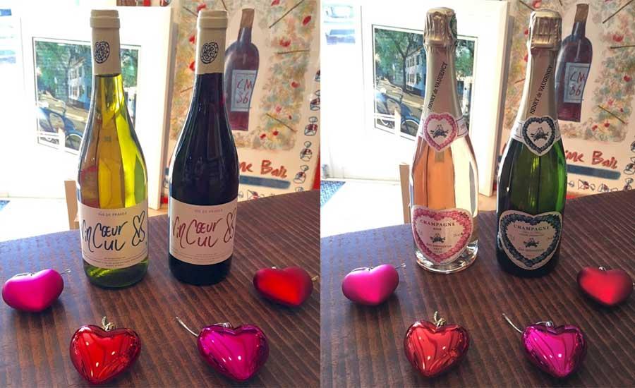 バレンタインにもワイン!
