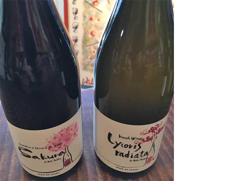 日本のワインが人気です